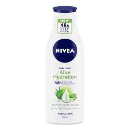 NIVEA Body Lotion, Aloe Hydration, For Normal Skin, 200g