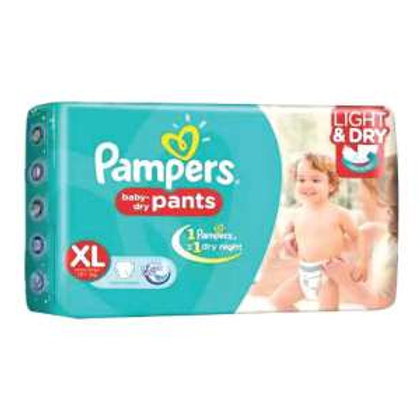 Pampers XL size Diaper, 5Pants