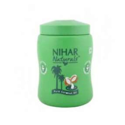 Mart On Finger Nihar Naturals Pure Coconut Oil ,175 ml