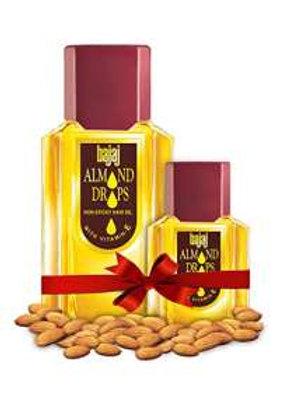 Bajaj Almond Drops Hair Oil, 100ml (Free 19ml Bajaj almond drops oil)