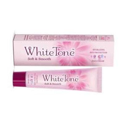 White Tone Soft & Smooth Face Cream, 15g