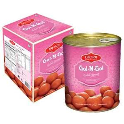 Bikaji Gulab Jamun - Gol M Gol, 1.25 kg Tin