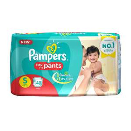 Pampers S Size Diaper, 30Pants