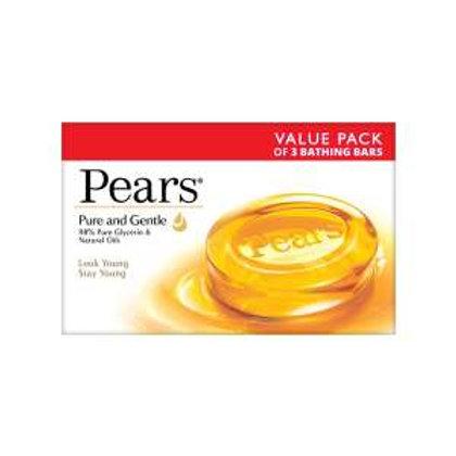 Pears Moisturising Bathing Bar Soap with Glycerine Pure & Gentle, 100g