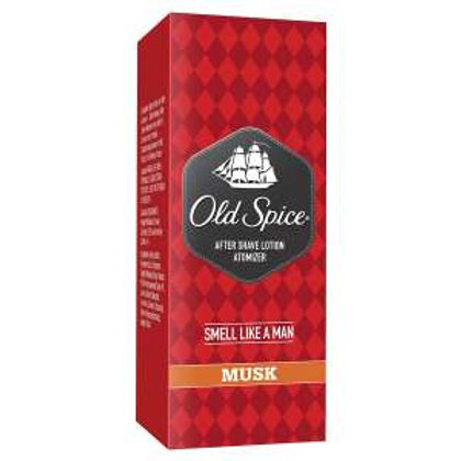 Old Spice After Shave Lotion Atomiser - Musk, 50ml