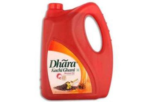 Dhara Mustard oil 5 ltr