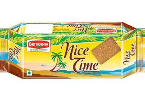 Britannia Nice Time Coconut Biscuits, 200 g