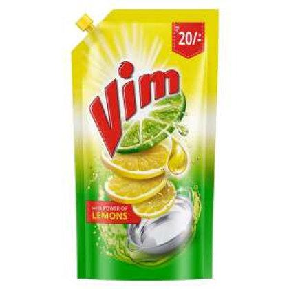 Vim Dishwash Lemon Pouch - 155ml