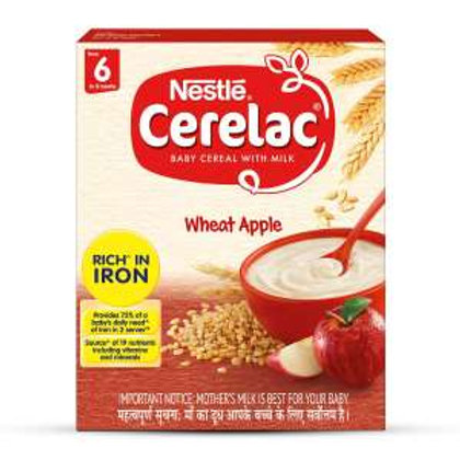 Nestle Cerelac Wheat Apple From 6 to 12 Months,300g