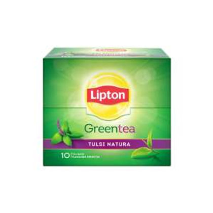 Lipton Green Tea Tulsi Natural, 10 Tea Bags