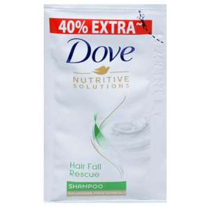 Dove Hair Fall Rescue Shampoo (40% Extra), 4.2 ml × 16pic