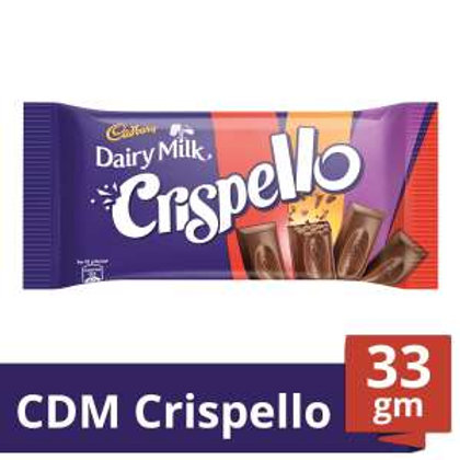 Cadbury Dairy Milk Chocolate Bar - Crispello, 33 g