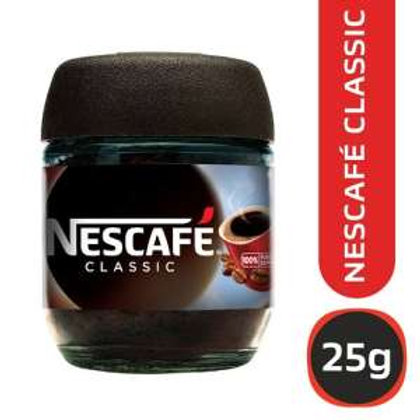 Nescafe Classic 25 Grams Glass Jar