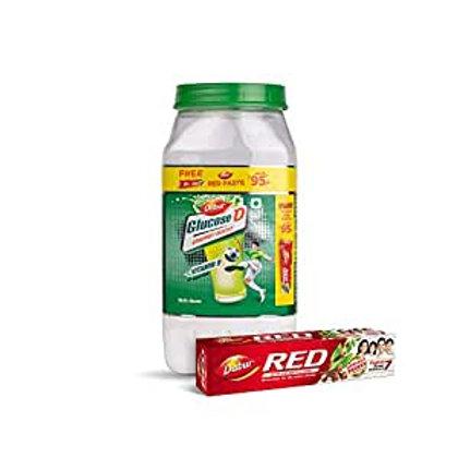 Dabar Glucose-D, 1kg+(Free Dabur Red Paste 200 g)