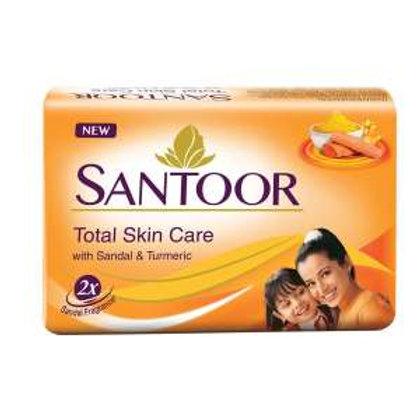 Santoor Sandal & Turmeric Soap, 57gg