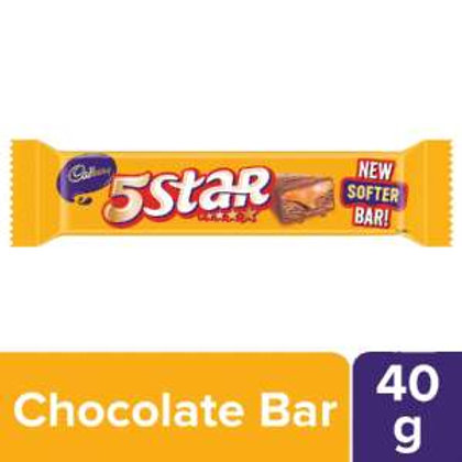 Cadbury 5 Star Chocolate Bar, 40 g