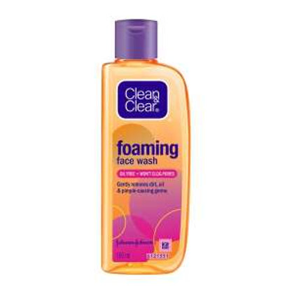 Clean & Clear Foaming Face Wash For Oily Skin, 50ml