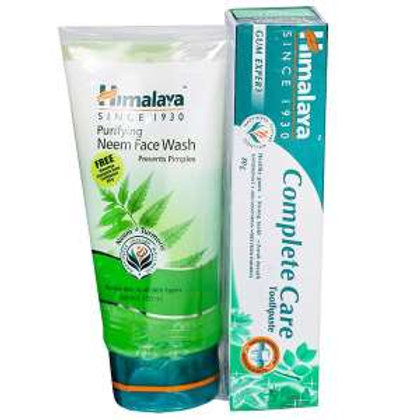 Himalaya Neem Face Wash,100ml (Free Complete care)