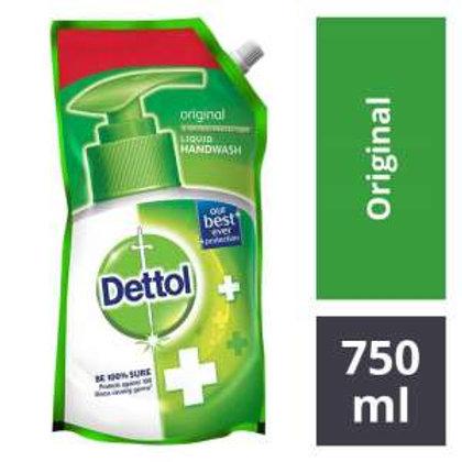 Dettol Liquid Handwash Original - 750 ml