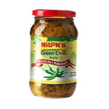 Nilon's Green Chilli Pickle - 400g