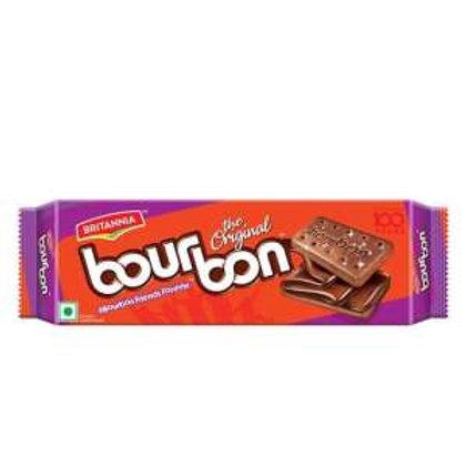 Britannia Bourbon Cream Biscuit - Chocolate Flavor, 200 g