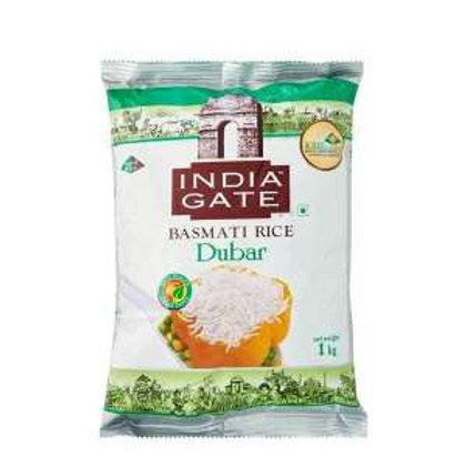 INDIA GATE Dubar Basmati Rice, 1 Kg