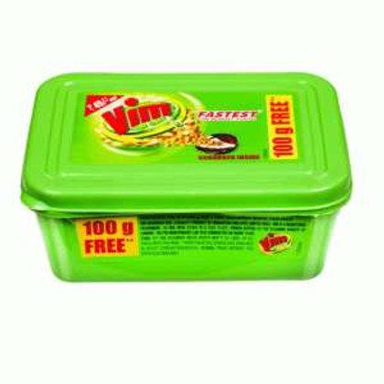 Vim Dishwash Bar Tub Lemon 500g +100g free
