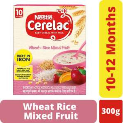 Nestle Cerelac Wheat Mixed Fruit From 10 to 12 Months,300g