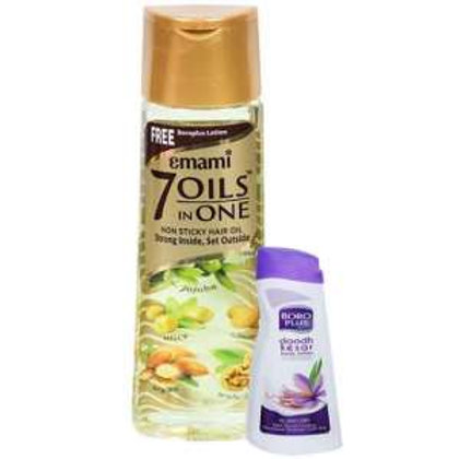 Emami 7Oils in one, 100ml (Free 10rup boroplus)