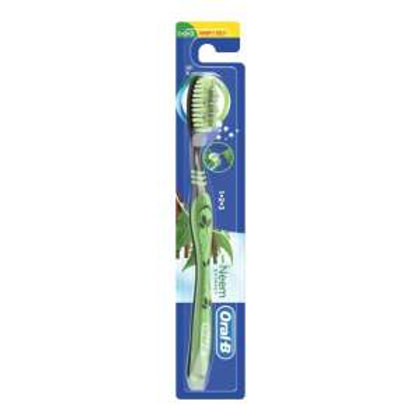 Oral-B Oral-B 123 toothbrush with Neem Extract,1pic
