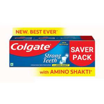 Colgate Strong Teeth Anticavity Toothpaste With Amino Shakti, 48 g