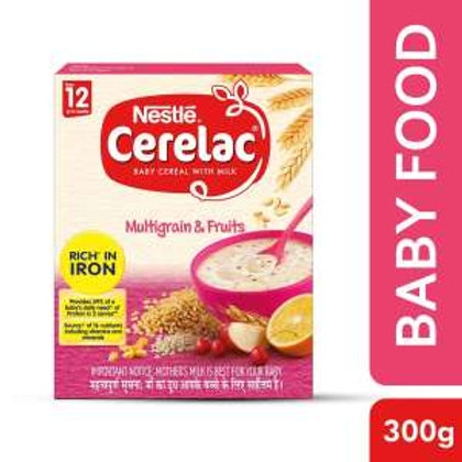 Nestle Cerelac Wheat Mixed Fruit From 12 to 24 Months,300g