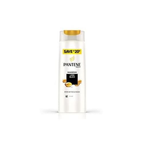 Pantene Long Black Shampoo, 180ml
