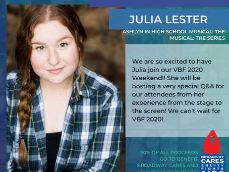 Julia Lester joins VBF 2020