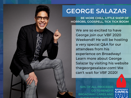 Broadway's George Salazar joins VBF 2020