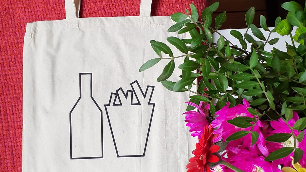 Fizz & Chips Tote Bag
