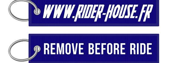 Porte-Clés Remove Before Ride - Rider House