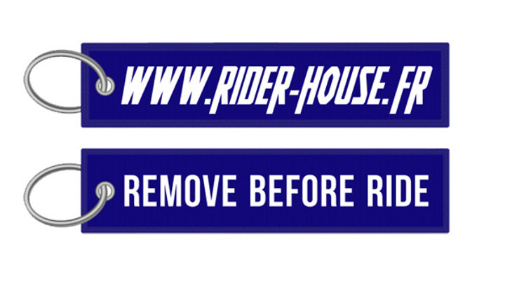 Porte-Clés Remove Before Ride - Rider House