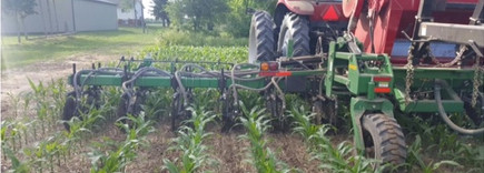 Cover Crop and 28 applicator