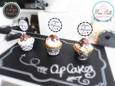 Cupcakes rellenos de avellana