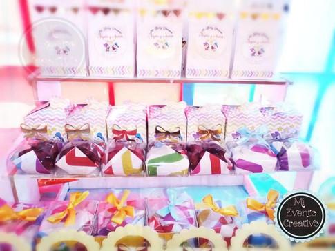 Mesas para dulces decoradas