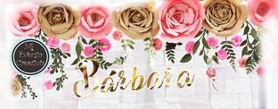 Flores de papel decoracion
