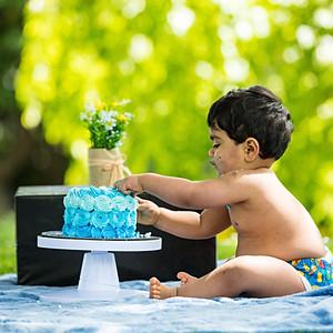 Mayon's 1st Birthday