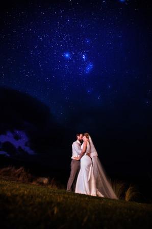 Lake Tekapo wedding photo