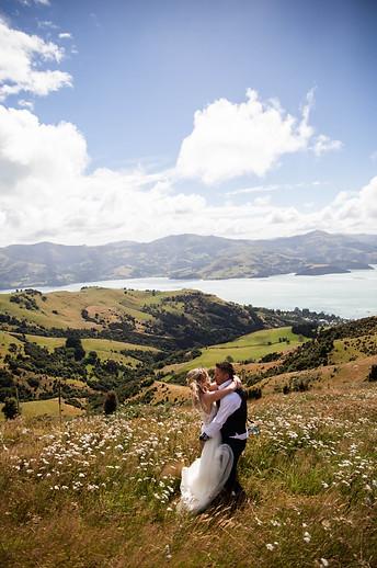 Akaroa Wedding Photo