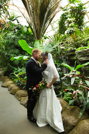 Botanic Gardens Wedding Photo
