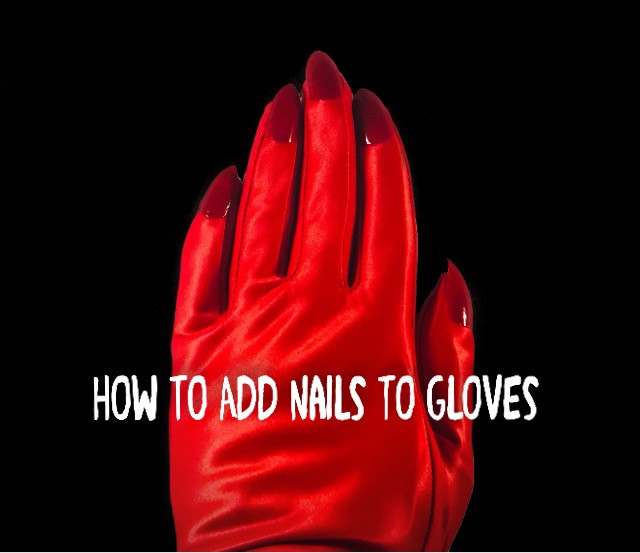How To Add Nails To Gloves