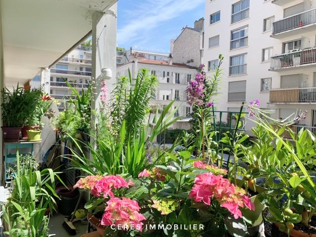 Appartement F3 à vendre à Paris 20ème