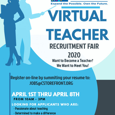 Storefront Academy Virtual Recruitment Fair