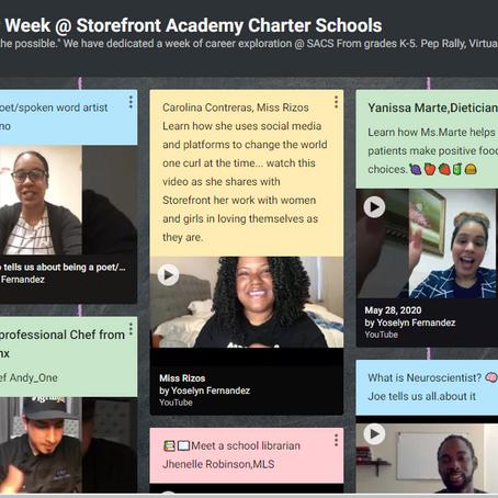 Virtual Career Week at Storefront Academy